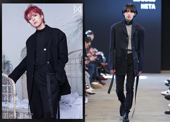 MONSTA X's MinHyuk Wears High Fashion For Comeback Concept Photo
