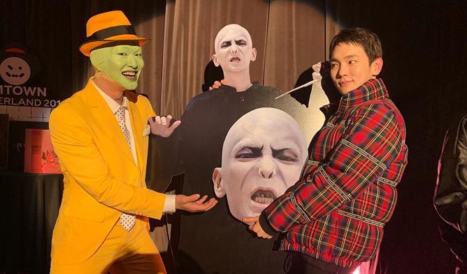 Shinee Key Costume Halloween 2020 SHINee's Key Shows Extreme Dedication For His Halloween Costume