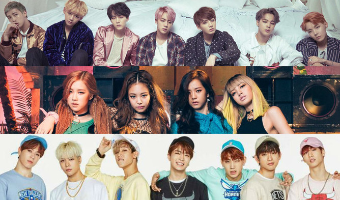 blackpink bts got7