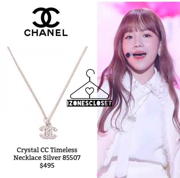 The CHANEL Jewelry Worn By IZ*ONE Members