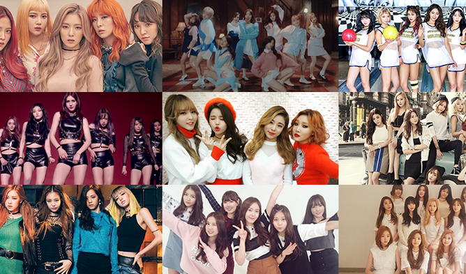 The Average Age Of Female K Pop Idol Groups In 2019 Kpopmap Kpop Kdrama And Trend Stories Coverage