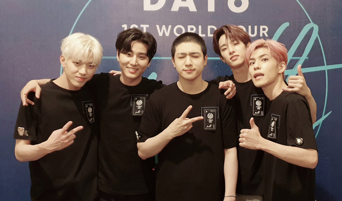 day6, day6 profile, day6 members, day6 weight, day6 facts, day6 age, day6 tour, world tour, kpop tour, jpy, day6 jyp