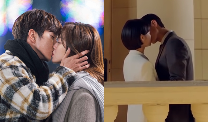 kdramas kiss scene, my strange hero kiss, yoo seungho kiss. park bogum kiss, encounter kiss, park bogum song hyekyo kiss