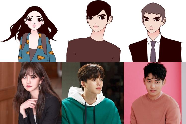 webtoon in drama, korean webtoon, webtoon remake, love alarm webtoon