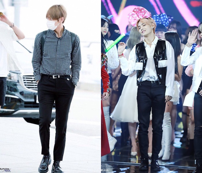 Fans Talk About The Two Types Of Pants That BTS's V Wears