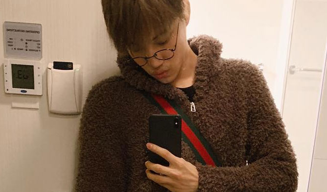 exo kai bear, kai fashion