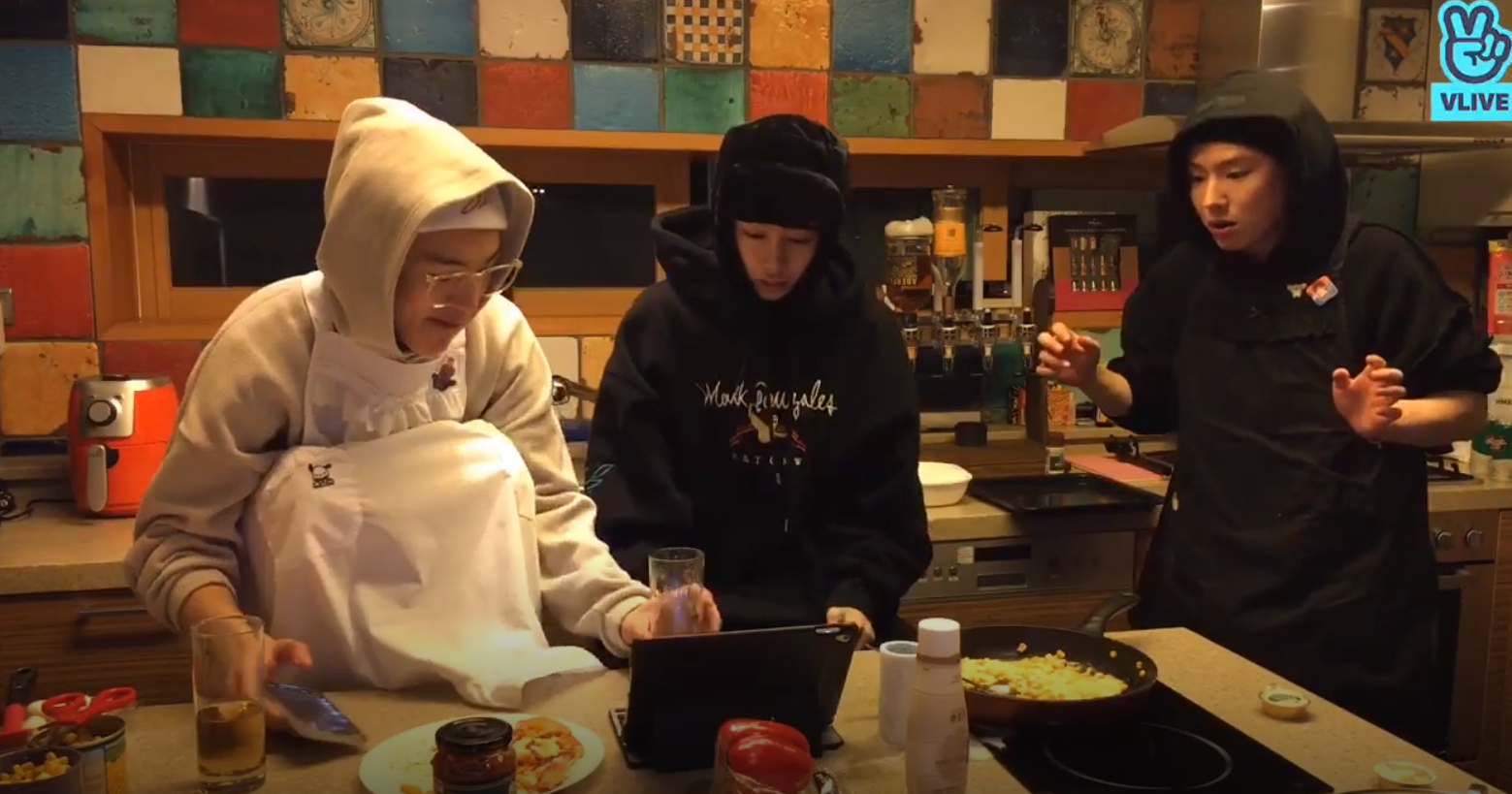 4 Moments That Turned MONSTA X's Live Cooking Show Into A Comedy