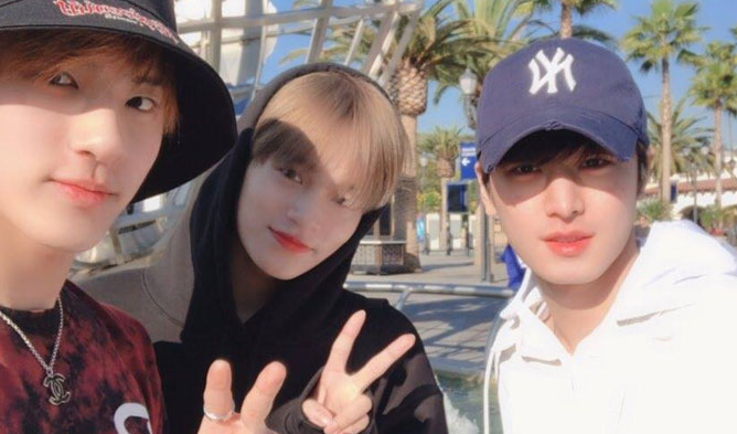 Lee DaeHwi the boyz eric juyeon LA