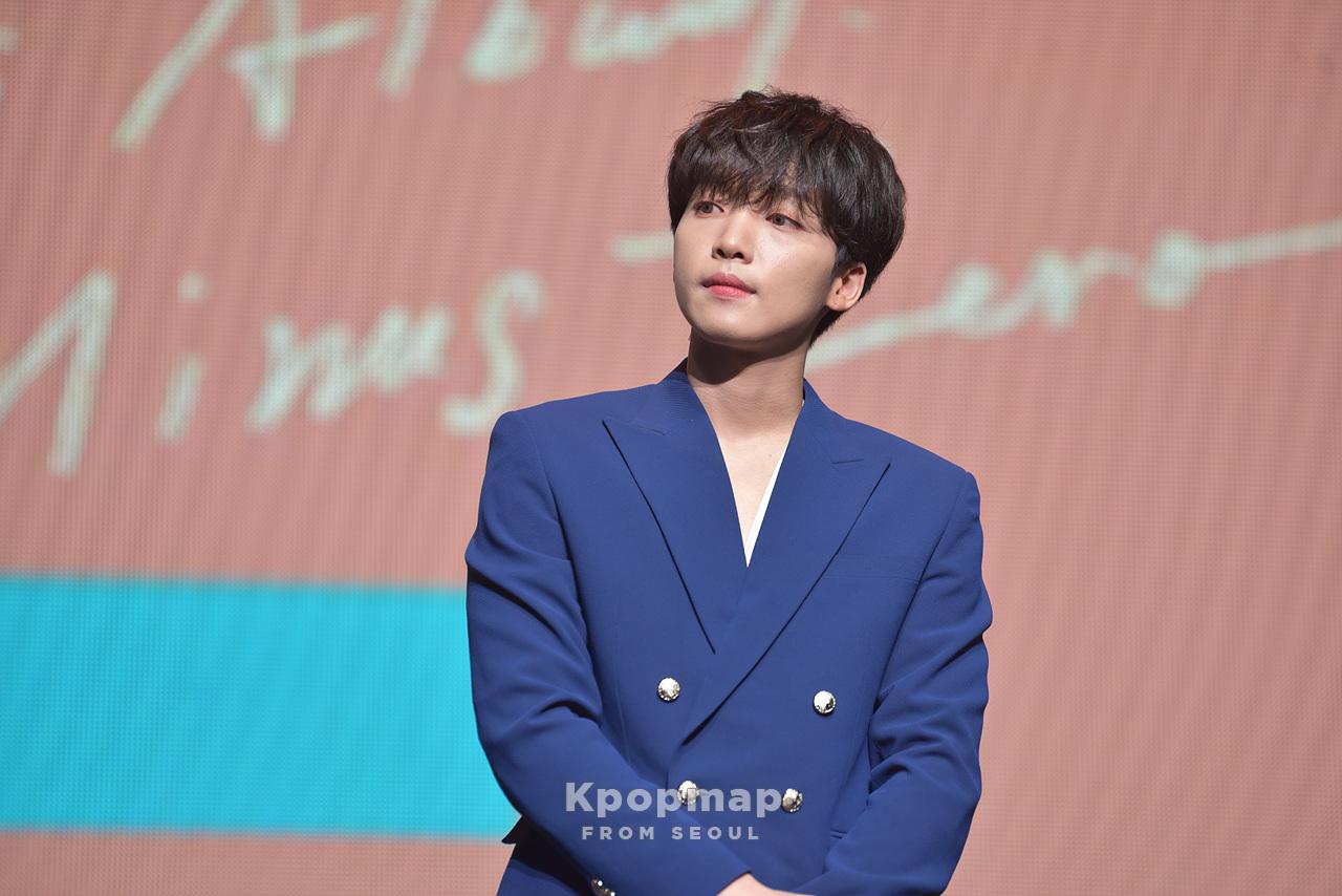 """Exclusive Photos: Jeong SeWoon Mini Album """"Plus Minus Zero"""" Showcase"""