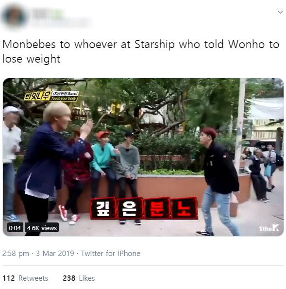wonho weight, wonho muscles, wonho monsta x, wonho 2019, wonho diet, wonho lose weight