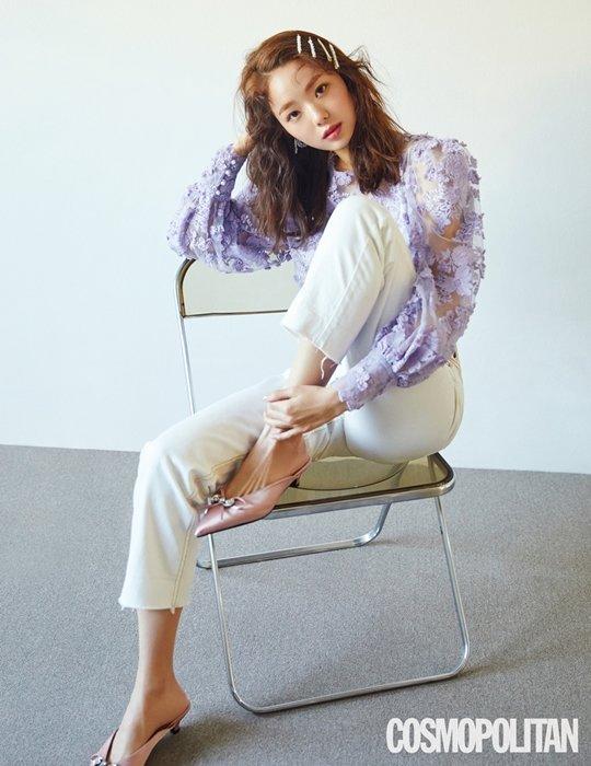 Chae SooBin for Cosmopolitan Magazine April Issue