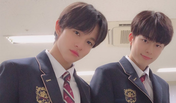 Kim Samuel And Yoo SeonHo Reunite In Hanlim Multi Arts School