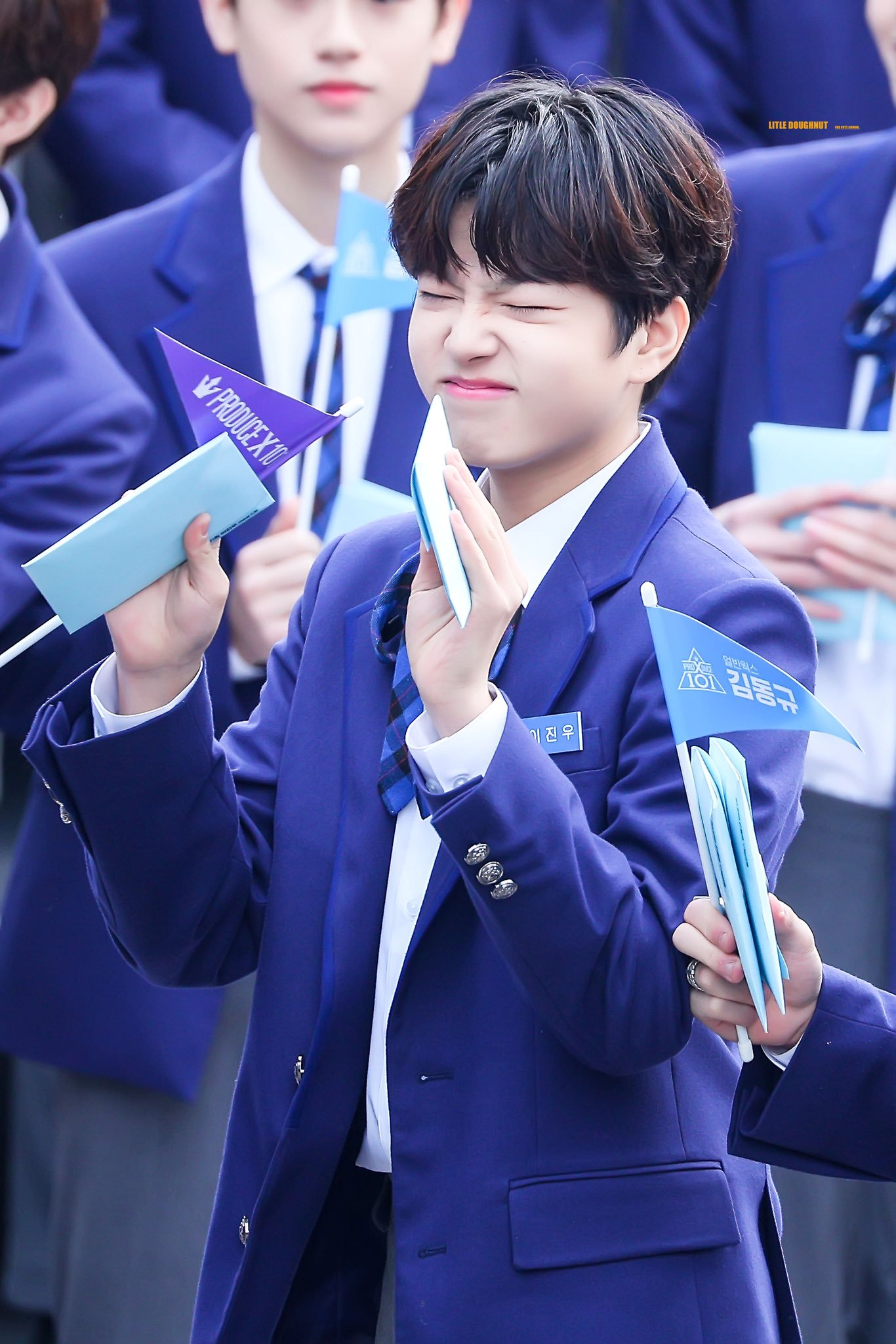 """Produce X 101"" Lee JinWoo From Maroo Ent Reminds Netizens Of Park JiHoon"