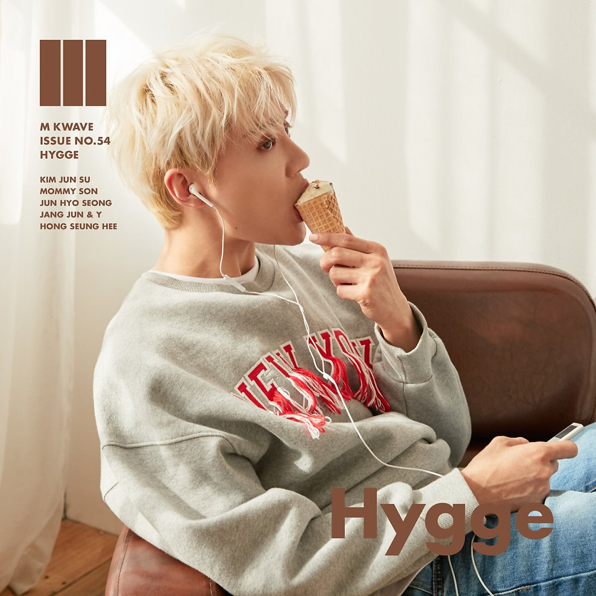 Kim JunSu For M KWAVE Magazine Cover Issue NO.54