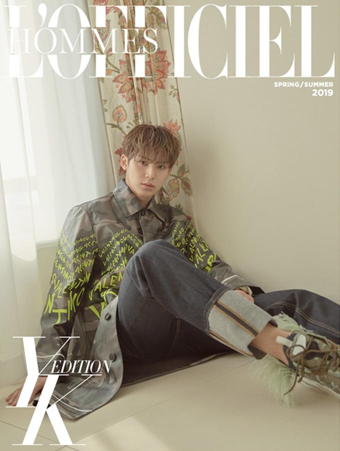 SEVENTEEN MinGyu For L'officiel Hommes YK Edition 2019 S/S
