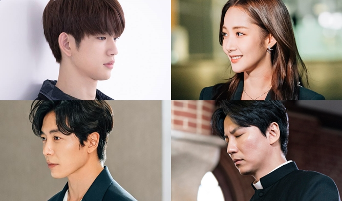 most talked actors, Korean actors