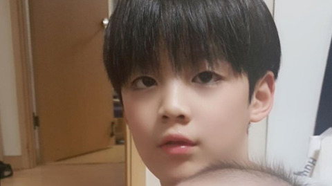 """Netizens Think That ChanHo From """"Dad! Where Are We Going?"""" Resembles BTS's V"""