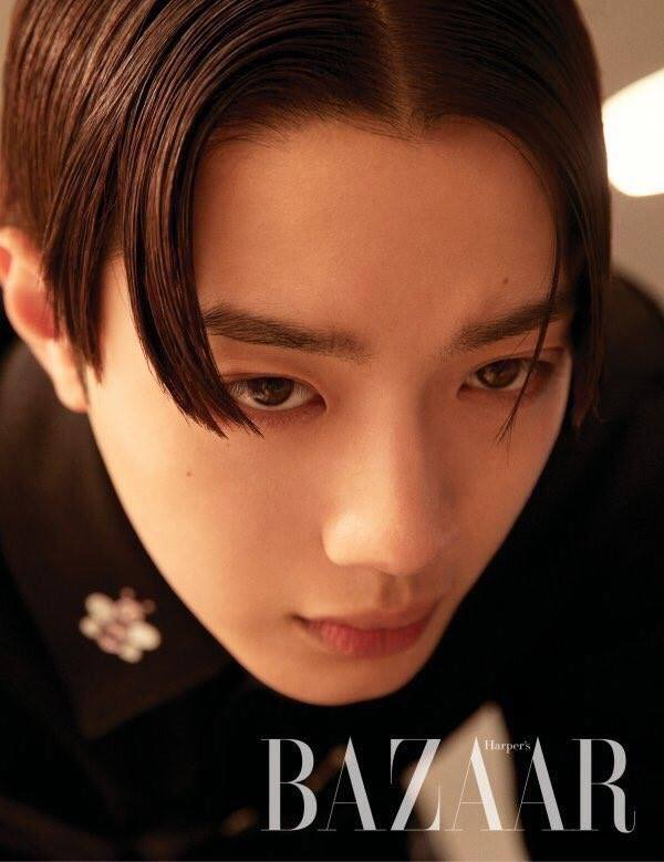 Fans Have Mixed Reactions After Seeing Lai KuanLin's Hairstyle For 'Bazaar' Photoshoot