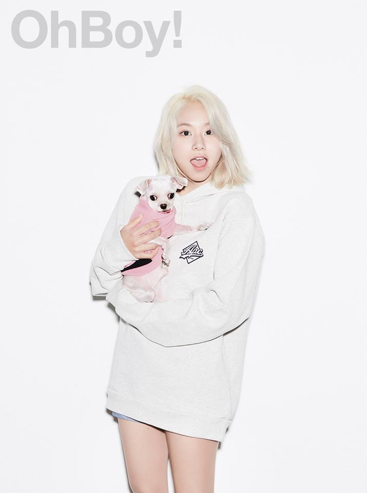 TWICE's ChaeYoung for OhBoy! Magazine