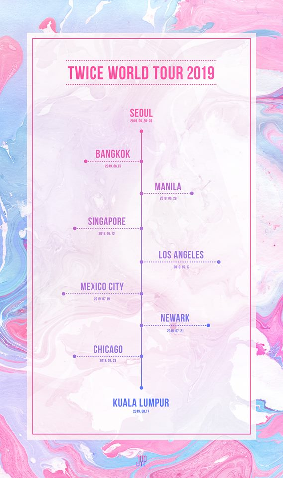 TWICE World Tour 'TWICELIGHTS' 2019: Cities And Ticket Details