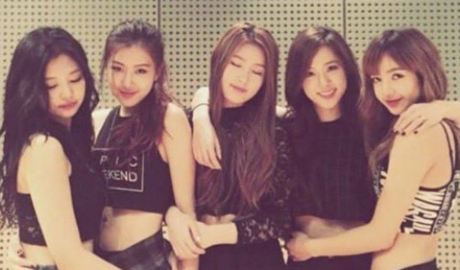 blackpink five members