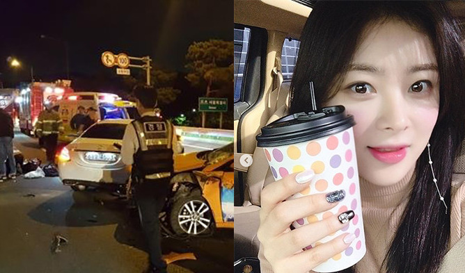 Actress Killed In Recent Car Accident Revealed To Be Han Jisung Kpopmap Kpop Kdrama And Trend Stories Coverage