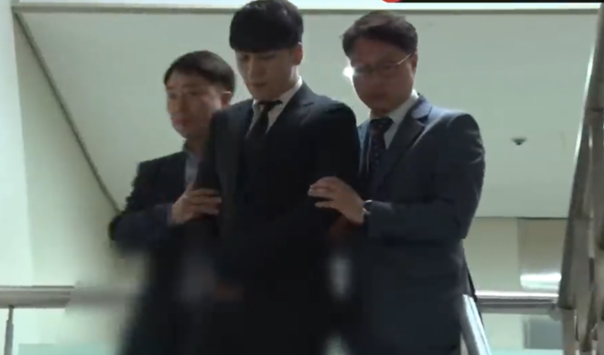 seungri arrested