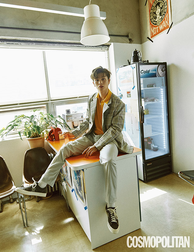 Yook SungJae For Cosmopolitan Magazine June Issue