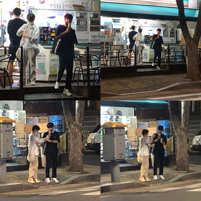 """""""Produce X 101"""" Kim YoHan And Lee SeJin Spotted Hanging Out With Each Other"""