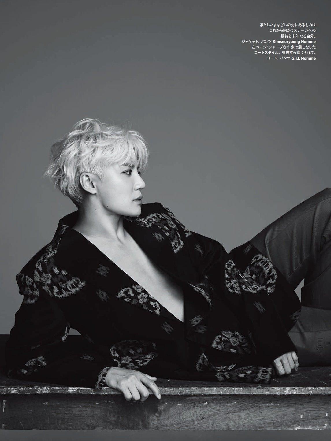 "Kim JunSu, ""NEVER STOP EVOLVING"" Shooting Behind-the-Scene"