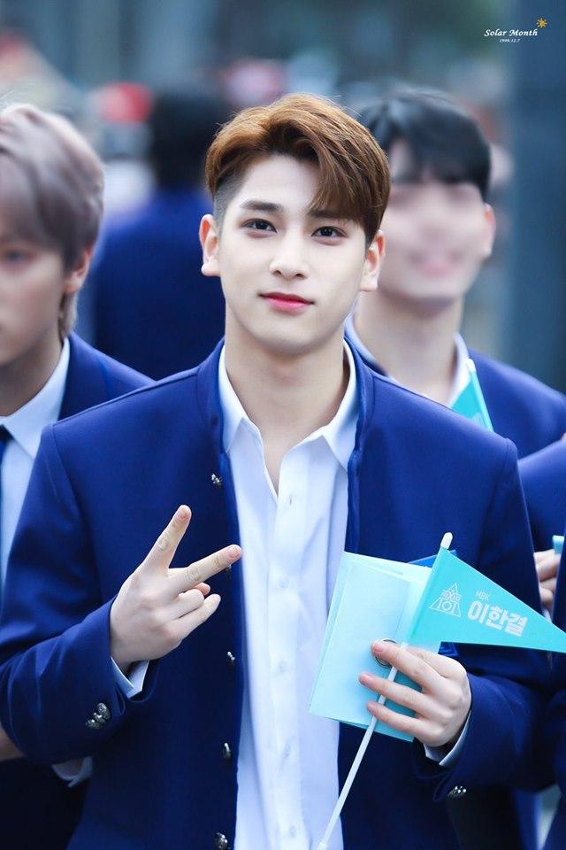 produce x 101, produce x 101 trainees, produce x 101 members, produce x 101 height, produce x 101 company, kpop, trainee, produce x 101 lee hangyul, lee hangyul