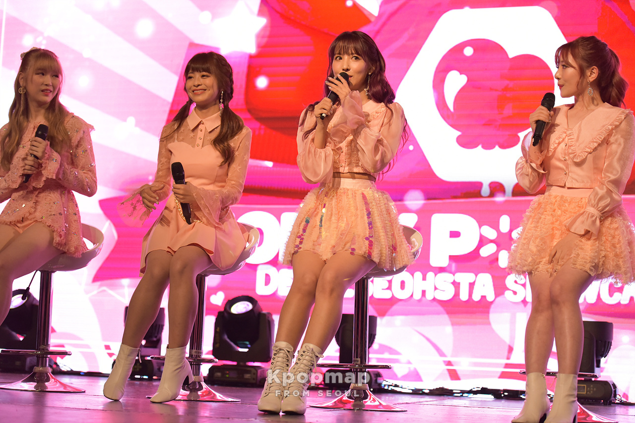 "Exclusive Photos : Honey Popcorn 2nd Mini Album ""De-aeseohsta"" Showcase"