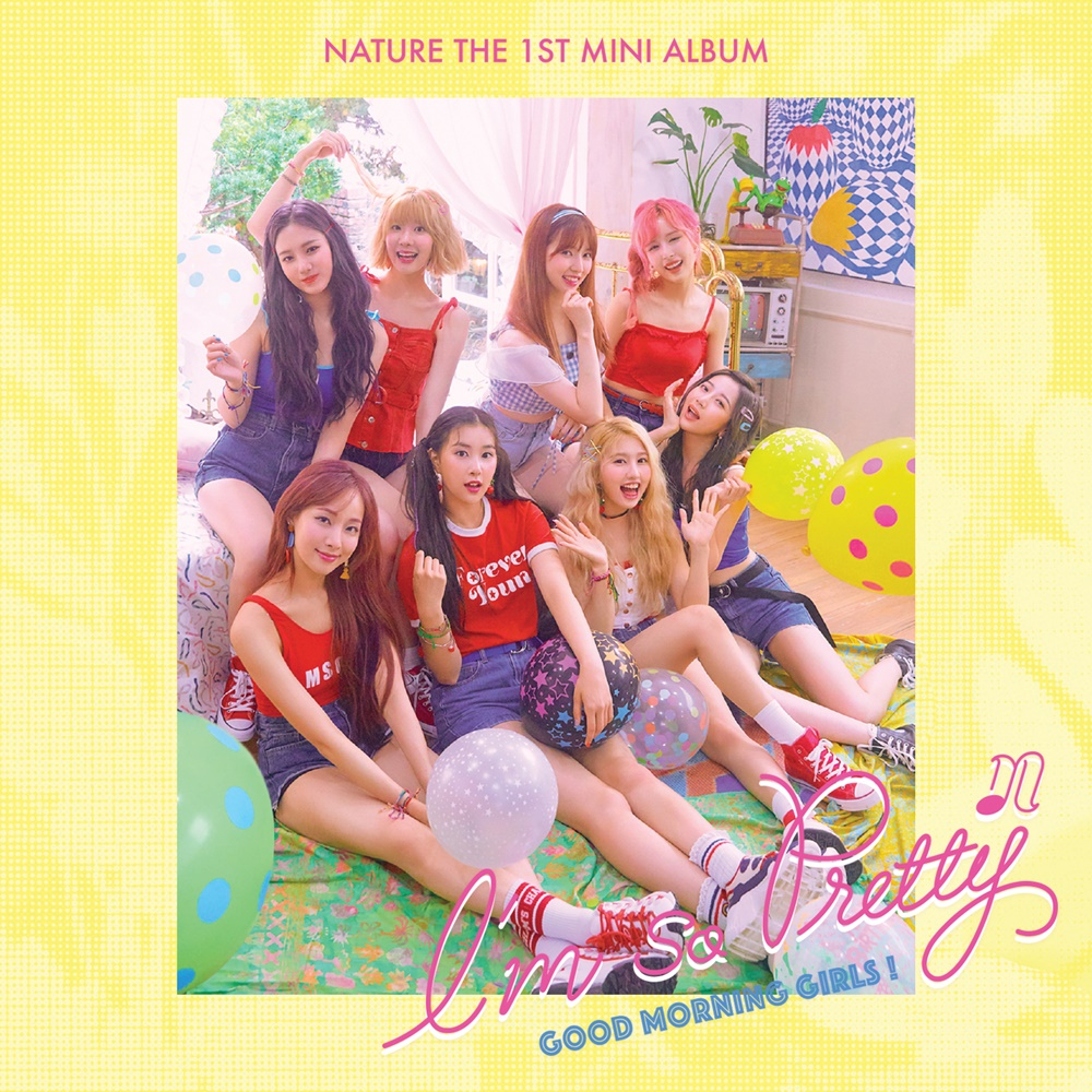"""Exclusive Review : 8 Tailed Fox Naturally Steals Your Heart, NATURE 1st Mini Album """"I'm So Pretty"""" Showcase"""