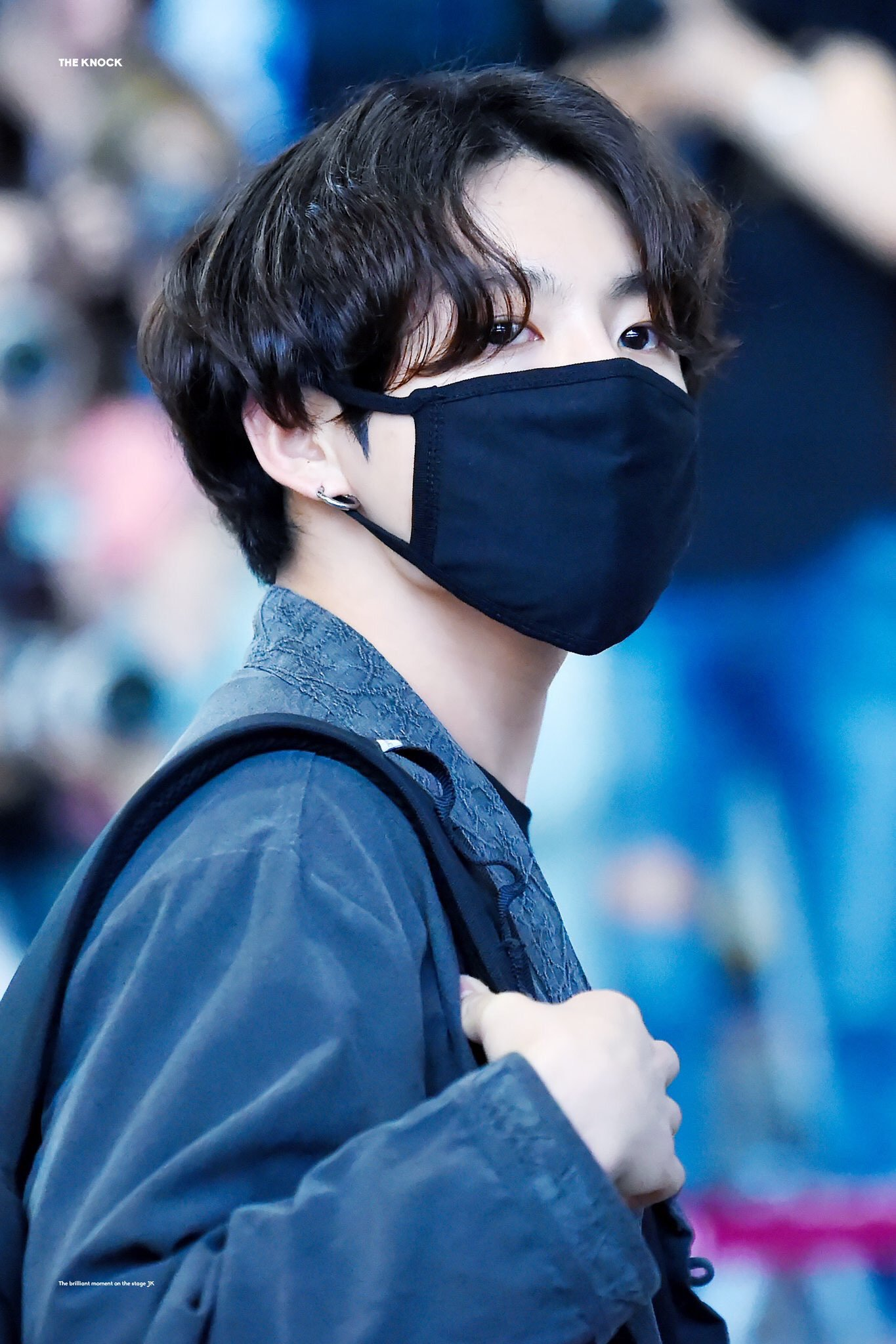 BTS's JungKook Spotted Wearing A Modernized Hanbok At The Airport