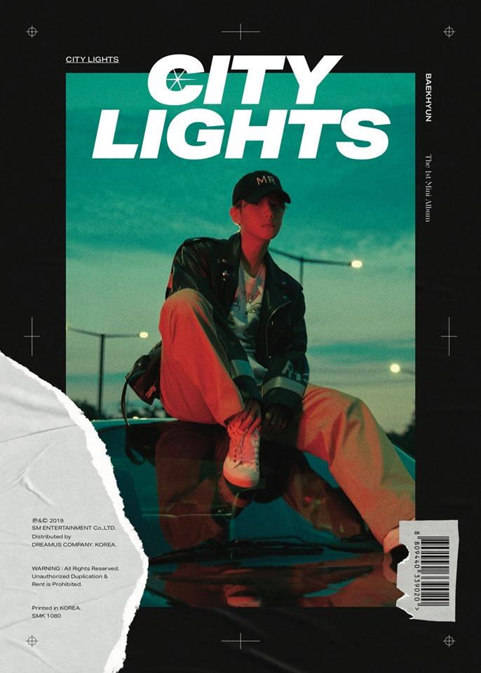 "EXO's BaekHyun 1st Mini Album ""City Lights"" Teaser Photo"