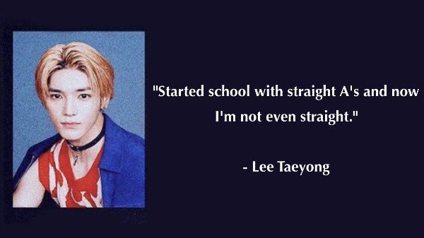 UPDATED: Read NCT 127's Hilarious Fan Edited High School Senior Quotes