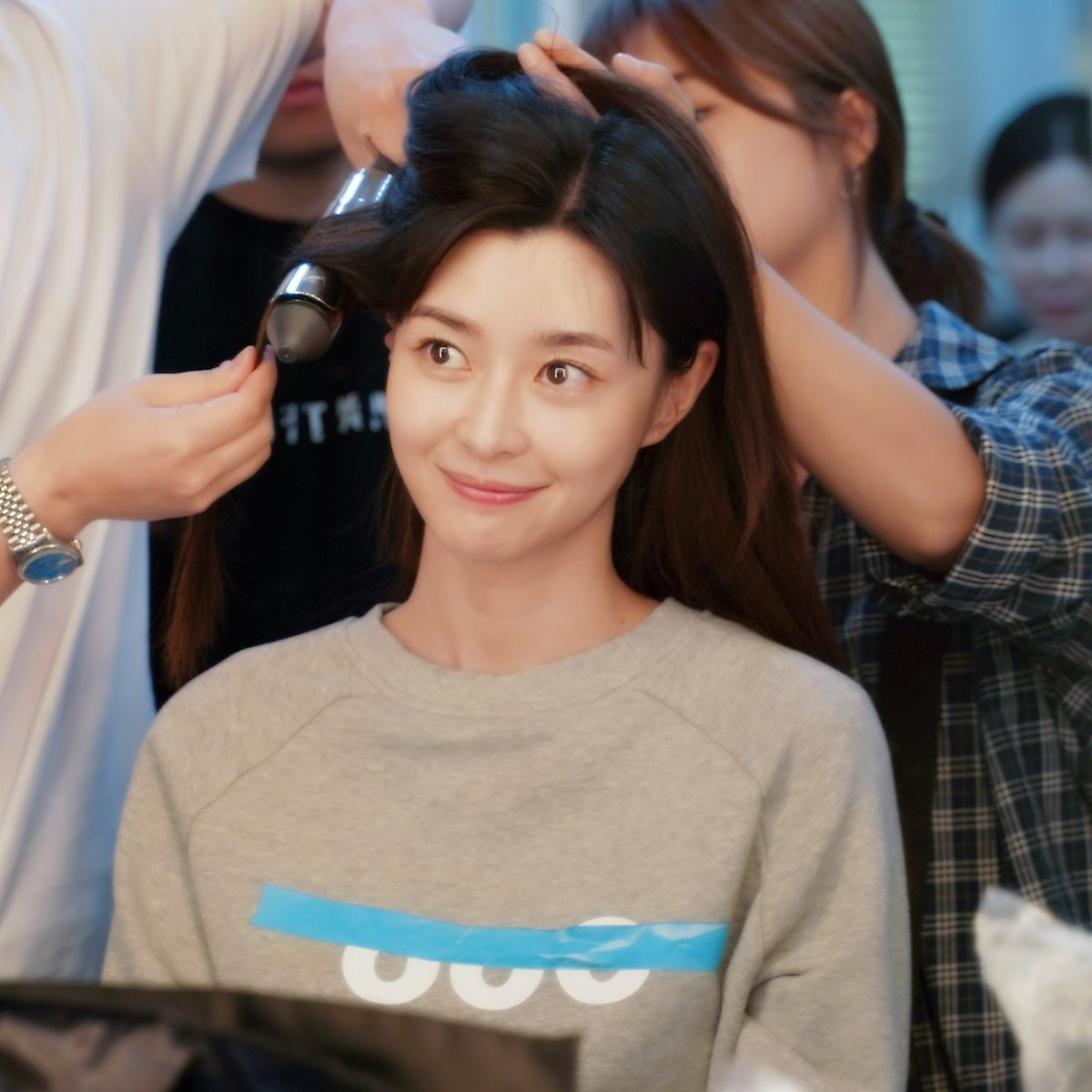 Kwon Nara, Commercial Shooting Behind-the-Scene