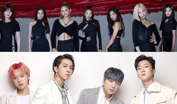 clc, hyuna, btob, winner, mamamoo, momoland, kard, kim jaehwan, fromis 9, kaf 2019, lineup