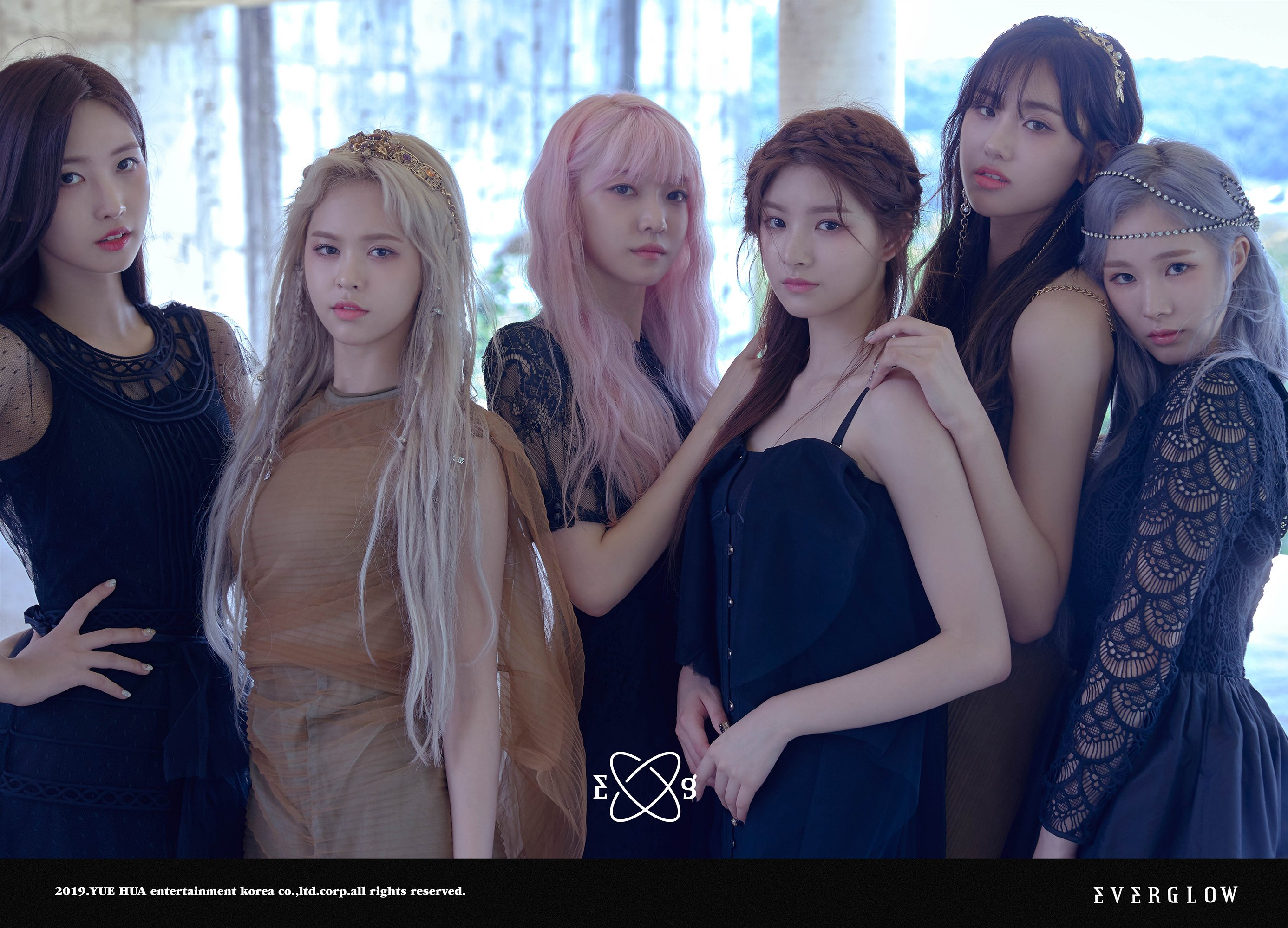 everglow, everglow members, everglow facts, everglow height, everglow age, everglow profile, everglow leader, everglow yuehua, everglow rookie
