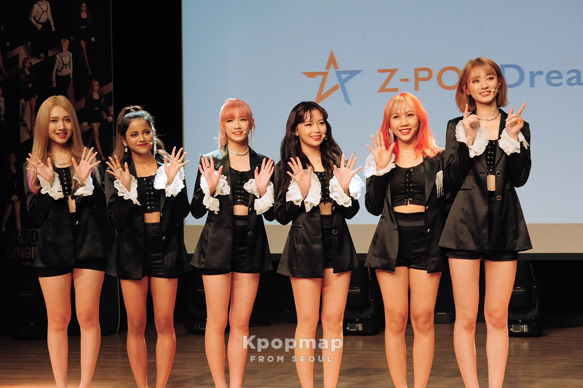 "Exclusive Photos: Z-Stars 2nd Mini Album ""Singing For You"" Media Showcase"