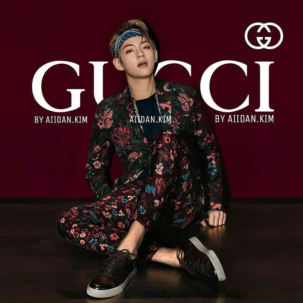 Why BTS V Should Be An Official Gucci Model
