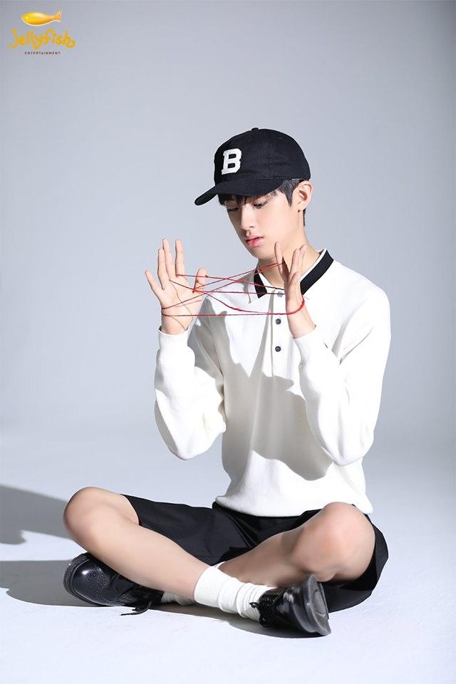 Kim MinGyu For 1st Look Magazine Photoshoot Behind-the-Scene