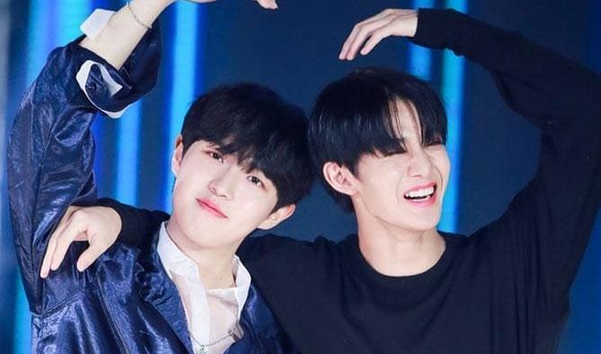 bae jinyoung kim jaehwan, cix kim jaehwan, wanna one 2019