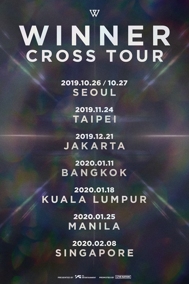 "WINNER ""CROSS"" Tour 2019: Cities And Ticket Details"