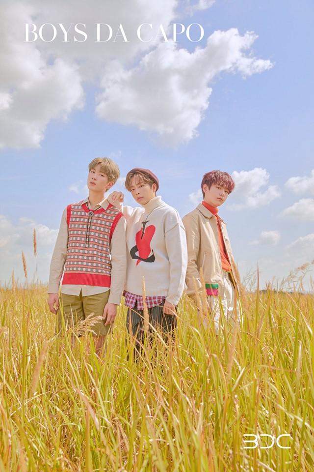 """BDC Special Single Album """"BOYS DA CAPO"""" Concept Photo"""