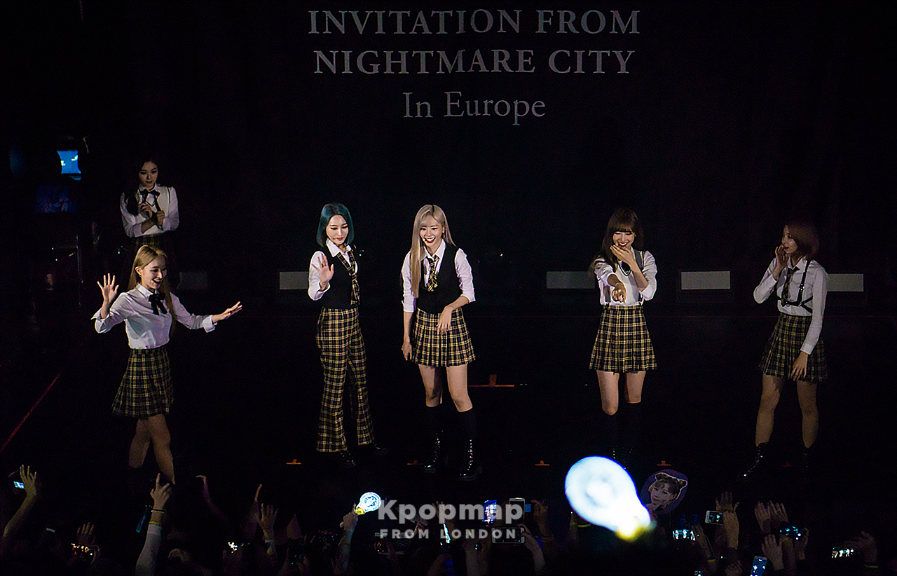 """Exclusive Photos: DREAMCATCHER """"Invitation from Nightmare City"""" In London"""