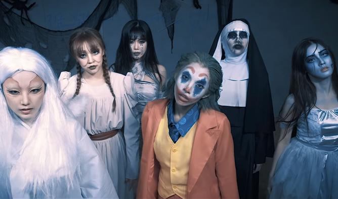 gidle, gidle profile, gidle facts, gidle age, gidle height, gidle leader, gidle members, gidle put it straight, gidle nightmare, gidle halloween