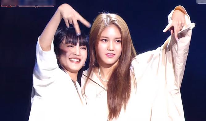 queendom, queendom stage, gidle, gidle minnie, gidle queendom, aoa, aoa hyejung, hyejung queendom