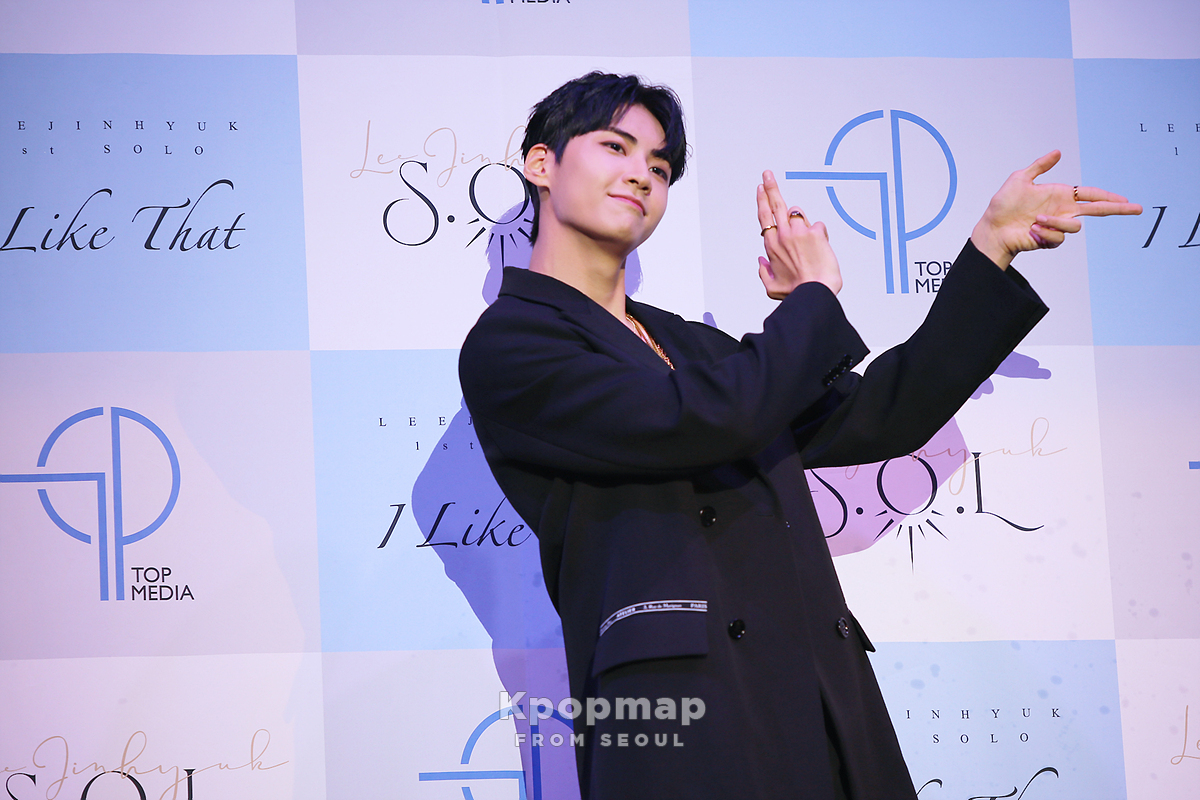 """Exclusive Review: UP10TION's Lee JinHyuk Is A Shinning Sun With Solo Debut """"S.O.L"""""""