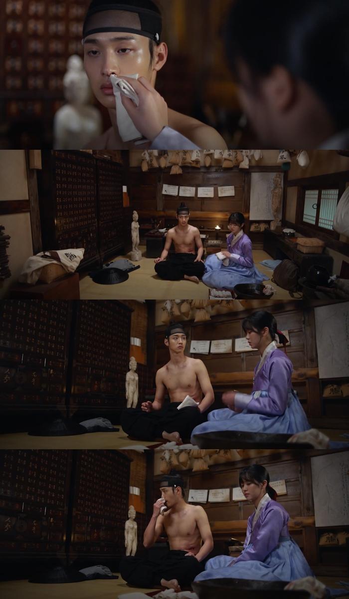tale of nokdu, tale of nokdu drama, tale of nokdu romance, tale of nokdu scene, tale of nokdu kim sohyun, tale of nokdu jang dongyoon, kim sohyun jang dongyoon